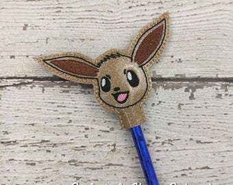 Eve Pencil Toppers - Pokemon Inspired - Party Favor - Valentine - Small Gift - Back to School