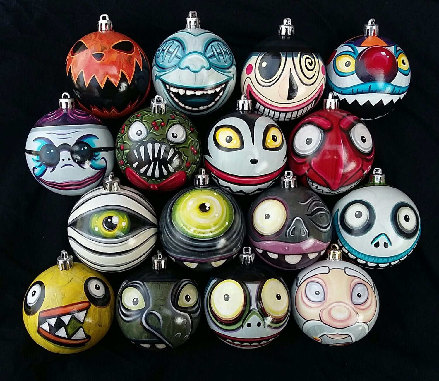 Any Character Nightmare Before Christmas By AndreaHathcockArt