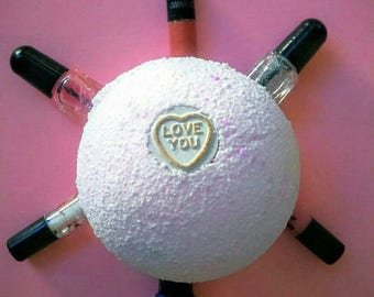 PACK OF 2, Ladies Bath Bombs, Surprise Bath Bomb, Christmas Bath Bomb, Christmas Gift, Secret Santa, Gag Gift, Xmas Bath Bomb, Stocking Fill