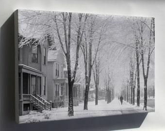 Canvas 24x36; A Winter Morning 4A18215A Original