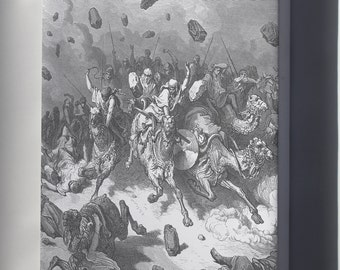 Canvas 16x24; 050.The Army Of The Amorites Is Destroyed