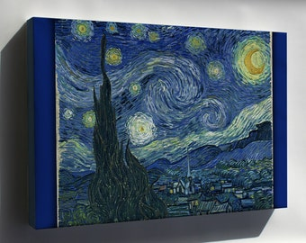 Canvas 16x24; Starry Night Vincent Van Gogh, The Starry Night