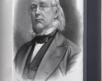 Canvas 16x24; Horace Greeley Baker.Jpeg_Files