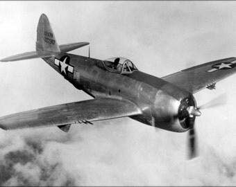 16x24 Poster; Republic P-47N Thunderbolt