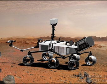 16x24 Poster; Mars Science Laboratory Curiosity Rover