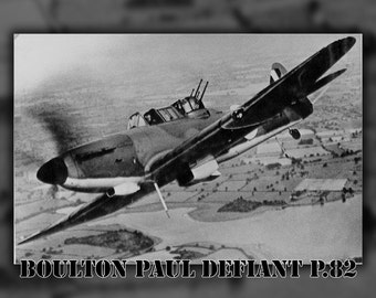 16x24 Poster; Boulton Paul Defiant P.82