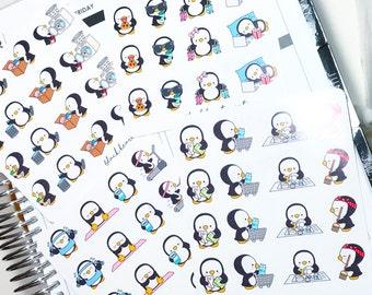 Penguin Doddle Collection Deco Sheets