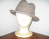 Swagger Fedora Pattern (for UK crocheters)