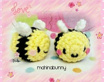 Cute Amigurumi Bee Plush Cute Crochet Bee Toy Bumble Bee