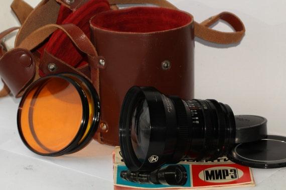 Lens MIR-3 3.5/65 for ZENITH 80 Kiev 80 Salyut C Kiev 88 Kiew Saljut S N730138