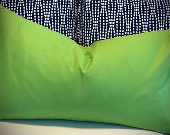 """Bright Lime 16x26"""" Pillow Cover"""