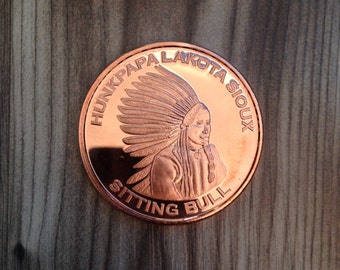 1oz Copper Coin