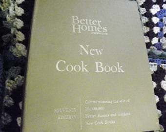 Better Homes And Gardens New Cook Book Gold Souvenir Edition - Plus LOTS Of Extras!