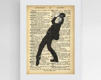 Tom Waits, Tom Waits Poster, Hope I don't fall in love, Tom Waits Print, Instant Download,Bad as Me, Tom Waits Orphans, Toma Waits Vinyl