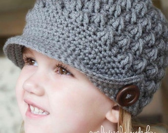 The Renee brimmed hat-Adult size pattern ONLY