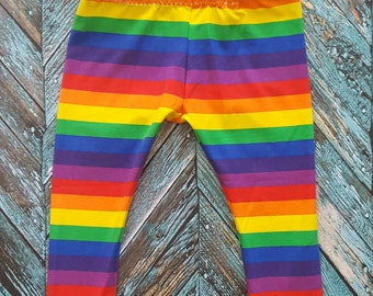Rainbow Leggings Size 18-24 Months