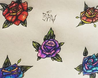 Rose Flash sheet