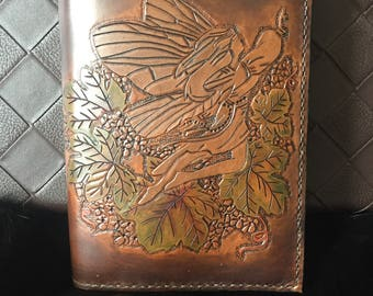 Leather fairy book