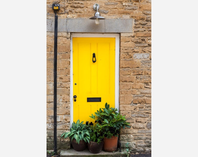 YELLOW DOOR | modern fine art photography blank note cards custom books interior wall decor affordable pictures –Rick Graves