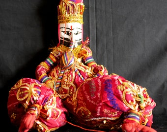 Rajasthani Puppet/Doll (musician)
