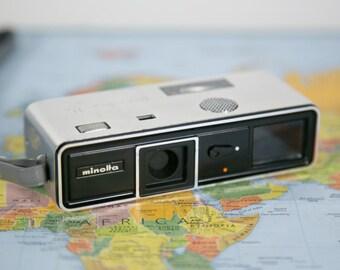 Minolta 16 Model P Spy Camera with Case & Instructions #O66