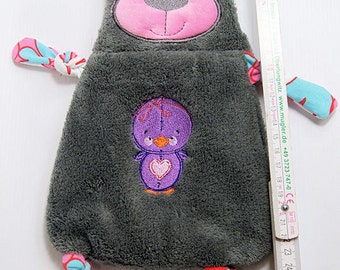 Blanket / cuddle blanket for babies and young children also can be CUSTOMIZED