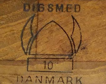 Vintage Digsmed Teak Cutting Board No 10