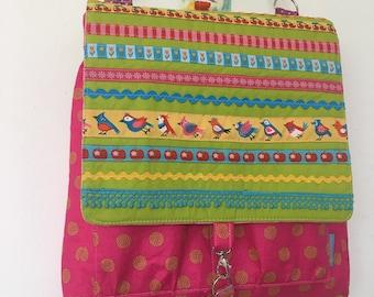 Backpack * bag * spring birds