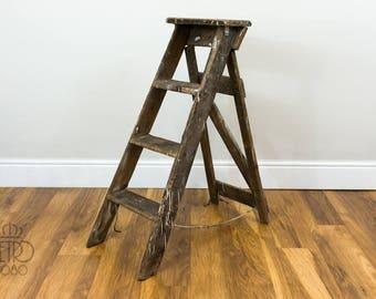 Vintage Shabby Step Ladder