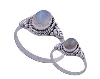 MAY  gemstone silver ring
