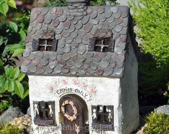 Fairy Escape Cottage for Miniature Garden, Fairy Garden