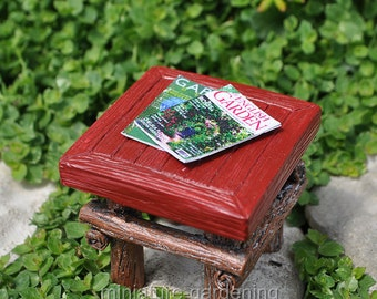 Magazines, Set of 2 for Miniature Garden, Fairy Garden