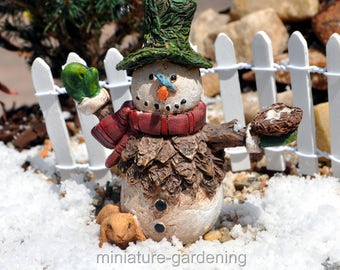 Mr Flurry for Miniature Garden, Fairy Garden