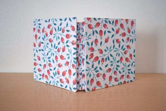 Floral notebook, Hardcover notebook, Colourful notebook, Girly notebok, Woman notebook, Illustrated notebook, Blank page notebook