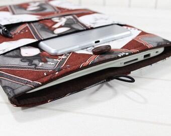 Macbook case, laptop sleeve, Macbook sleeve, laptop bag, Macbook Pro sleeve, Macbook sleeve 15, Santoro Gorjuss, Gothic laptop case, gift