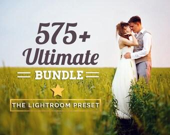 575+ Ultimate Lightroom Preset Bundle Pack INSTANT DOWNLOAD
