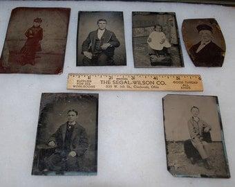 Early 20th Century Tintypes/Ferrotypes