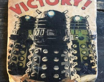 OVERSTOCK SALE: Doctor Who Victory! Dalek Coaster or Decor Accent