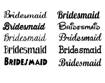 bridesmaid shirt iron on wedding iron on vinyl decal diy bridesmaid shirt gold glitter iron on custom iron on letters