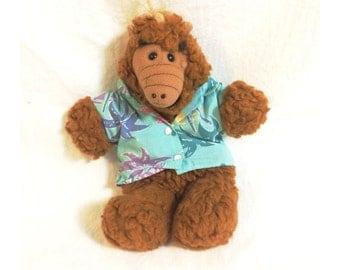 1980s Alf Hand Puppet