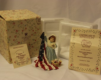 Maude Humphrey Bogart Stars and Stripes Forever 910201 collectible figurine 1992