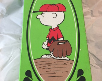 AVON Good Old Charlie Brown soap and soap dish