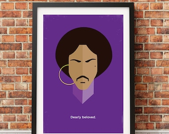 Prince Original Icon Print (Icon Series)