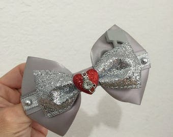 Tinman inspired hairbow