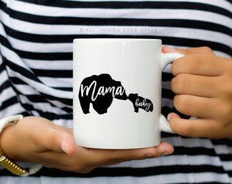 Mama Bear and Baby Bear Mug | Jehovah's Witness Gift  | JW | Pioneer Gift | Cup | Elder's | Gift | Baptism | Present | Jw Org