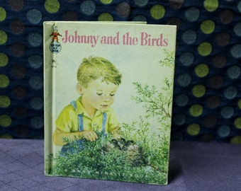 Johnny and the Birds 1959 Tip Top Elf Book A Rand McNally Book