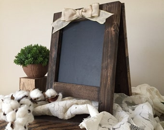 Chalkboard Easel, Chalkboard Sign, Chalkboard A Frame, Tabletop Sign