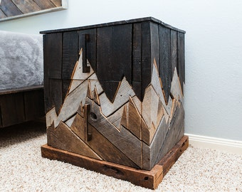 unique rustic furniture. rustic furniture reclaimed wood bedroom unique nightstand natural pallet i