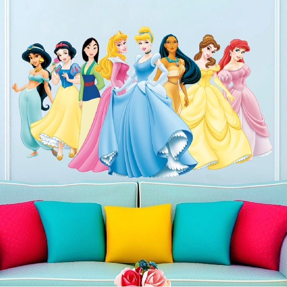 Princess Wall Decals by Prime Decals