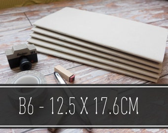 Midori, Travelers Notebook, Refills - B6